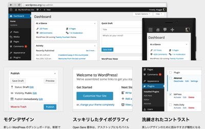 紹介 GarretCafe WordPress 2
