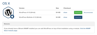 Install WordPress Download WordPress