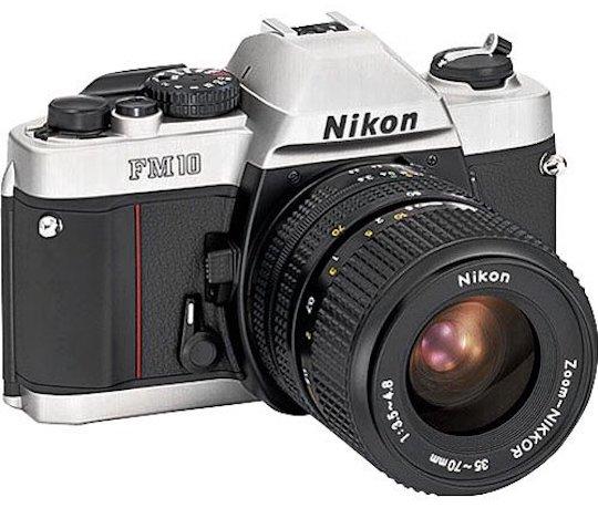 Nikon retro inspired Df like mirrorless camera 4